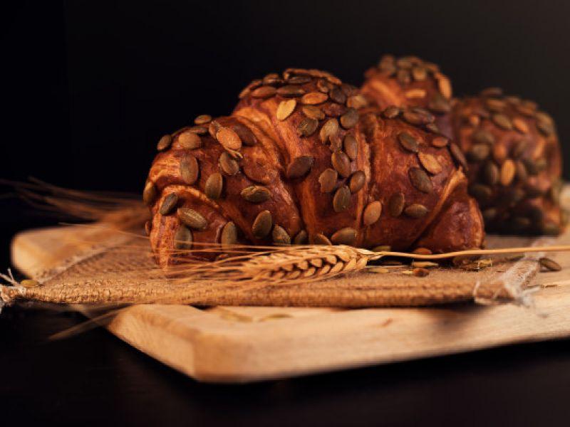 Kürbiskern Croissant