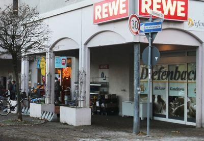 Backshop REWE Weissach aussen
